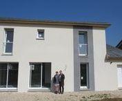 Chantier Seichamps 2 (54) / Maisons de type R+1 en brique Homebric de wienerberger