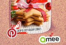 Cheap & Easy Holiday Cookies / Get in the holiday spirit with these fabulous cheap and easy holiday cookie recipes.