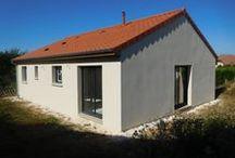 Chantier Lenoncourt (54) / Maison de plain-pied en brique Homebric