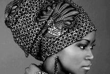 beautiful / black women