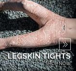 LEGSKIN TIGHTS | Courage My Love / With a fabric weight of 160gsm, they really do feel like a second skin. The unique design ensures that even during strenuous exercise, they don't twist or bunch and they keep the wearer comfortably cool and dry.