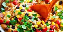 One Pot - One Pan - One Skillet RECIPES / Easy peasy recipes made in one pot, pan, skillet, or sheet. Featuring super simple Appetizers, Dinners, Side Dishes, and everything in-between!