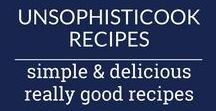 unsophisticook recipes / Welcome to my recipe box! I've got simple and easy recipes for every occasion that your family will love, with a focus on healthy, homemade recipes that are quick to make and filled with fresh ingredients... Like how to make crispy baked chicken wings, a delicious orzo salad, the BEST homemade peanut butter cookies, and much more! For more recipes check out unsophisticook.com.