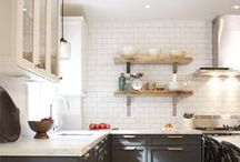 kitchen ideas / Kitchen ideas -- follow this board for inspiration for creating a beautiful, functional and organized kitchen, including creative kitchen storage ideas, gorgeous kitchen decor ideas, brilliant organization hacks, DIY kitchen ideas, and much more...