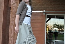 Sewing Patterns for Girls / by Sharon Tay