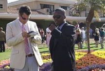 Sharp-Dressed Men / Men's horse racing fashion.