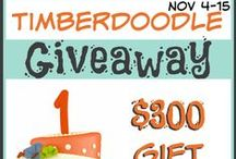 Ultimate Homeschool Giveaways / Are you looking for a place to find all of the best and biggest #homeschool #giveaways to enter?  Get started here!  We will have a huge group of bloggers pinning their giveaways to this board and you are sure to find a giveaway that interests you.