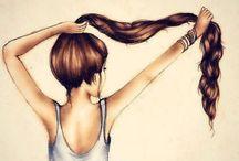 hair / by Anna Patrick