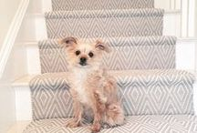 Stair Runner Installations / It's a style stair-down! Check out all these inspired stair installations of Dash & Albert rugs. / by Dash and Albert Rug Company