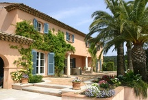 Bastide de la Croix, St. Tropez, France. / We love the feeling of being on top of the world, far from the crowds, yet right beside the sea. This grand and spacious luxury villa is a delicious slice of French heaven.