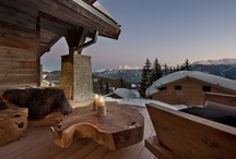 Chalet Seven, Crans Montana, Switzerland / We love the way rooms have been grouped into apartments – like chalets within a chalet – and we adore the extensive wine cave.
