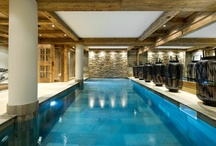 Le Petit Château, Courchevel 1850, France / We love the impeccable style of Le Petit Château - a first rate luxury ski chalet with all the trimmings including a butler and private chef. The location cannot be faulted either: right beside the piste in one of the most exclusive ski resorts in the world.
