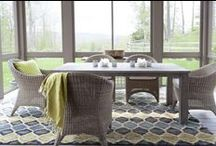Jute Rugs by Dash and Albert Rug Company / Go au naturel! Our jute rugs are an all-natural, all-fab, eco-friendly approach to floor décor. / by Dash and Albert Rug Company