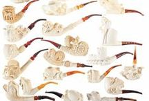 Meerschaum Pipes / #Meerschaumpipes, #pipe, #pipesmoking, #smoking, #tobacco
