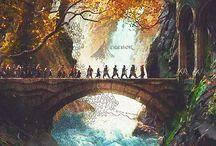 Middle Earth / #middleearth, #tolkien, #ring, #hobbit, #silmarillion, #bilbo, #frodo, #baggins, #smigol, #gollum, #gimli, #legolas, #gandalf