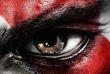 Videogames Characters / #Videogames, #characters, #kratos, #mario, #sonic, #pacman