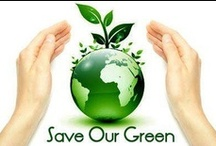 Go Green / The natural environment is a term that encompasses all living and non-living things occurring naturally on earth. The things which do not occur naturally need spontaneous affiliation with the natural world. For this reason we need continuous and meaningful access to natural settings of the existing stuffs created by both nature and us. / by Save Our Green