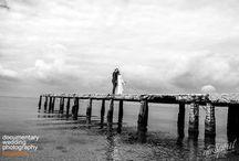 B&W Documentary Wedding Photography
