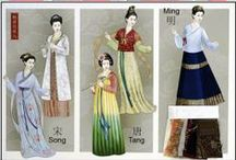 World Fashion -Traditional- / Hanfu, Kimono, Hanbok, etc