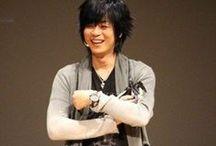My Seiyuu Bias / all about my favourite seiyuu (voice actor):  1. Yusa Kouji (Gin Ichimaru, Toujou Ayumu, Harada Sanosuke) 2. Nakai Kazuya (Zoro, Mugen)  3. Takahashi Hiroki (Hisoka, Pariston Hill) ;D