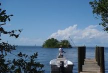 Pretty Joe Rock / One of the few offshore islands in the Florida Keys boasting city water and electric.  2 bedrooms, 2 baths, full kitchen, living room, dining room, 2 waterfront decks, includes a 16' skiff and shore access.  Rent or Own.  Call Gidget Jackson, Florida Keys Island Realty 305-900-8217