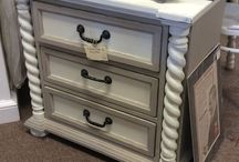 KI / Specializing in:  Antiques, painted furniture and accessories, shabby chic, garden decor, custom made signs.