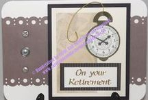 Handcrafted Greetings Card - Bon Voyage & Retirement #BonVoyage #Retirement