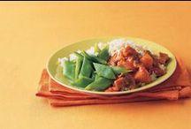 hoofdgerecht / pasta, aardappels, groente, vlees en vegetarisch