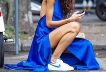 OCEAN BLUE / Inspirational pictures and outfits for the trend color blue in 2016.
