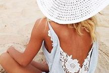 LET'S GO TO THE BEACH / We love to go to the beach! Get some inspiration for what to wear at the beach <3