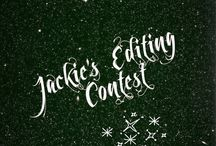 jackie's editing contest ✧ / After doing lots of them I decided to make my own!!! Rules: 1.NO copying or stealing 2. You can have up to 5 entries 4. Nothing inappropriate 5. If you don't like the theme or you don't want to do it you don't have to 6. Do the theme given and try to edit them even if it's only a little 7. Have Fun and ask to join!!! Happy Editing!!!