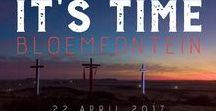 IT'S TIME 22 APRIL 2017 BLOEMFONTEIN, SOUTH AFRICA / National Day of Prayer with Angus Buchan & 1.7 million Christians!!!