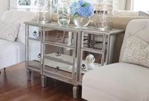 MIRRORED FURNITURE / Looking for a mirrored piece of furniture to complement your home? I've combed several online retailers to help you find the best and most affordable options.