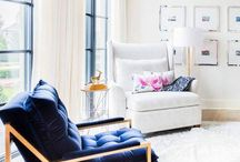 NAVY BLUE & WHITE / The classic navy and white - I will never fall out of love with this color combo!