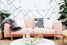 BLUSH PINK / Blush pink is hot home decor color trend and is trending through 2019. Add blush pink to you life and home.