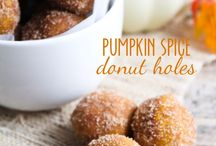 PUMPKIN SPICE / A love for pumpkin spice lattes and all recipes made with the wonderful flavor of pumpkin spice! Fall is PSL season and I am here to help!