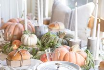 FALL DECOR / Sophisticated and Inspirational fall decor ideas in colors that work with your home decor