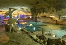 Hauntingly beautiful caves / by N. Washington