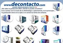 tips & info / Información útil y tips para quienes usamos lentes de contacto...