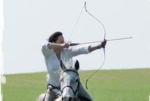 horseback archery / łucznictwo konne  / horseback archery / łucznictwo konne