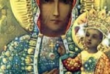 PolishMama / Even though I'm Polish, this board pays homage to all our mothers. And especially to my mother's Blessed Mother, Our Lady of Częstochowa