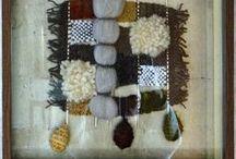 """Arte Textil """"Entrelanas Preciosas"""" / https://www.facebook.com/pages/Ximena-Art-Studio/278017315660744"""
