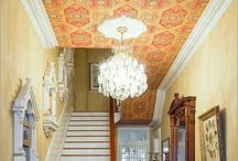 The 5th Wall / Wallpapered ceilings can make a huge difference!  Find your inspiration here!!!