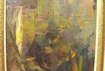 ARTROOMS: Paintings Grace W. Herring /  GRACE WOOD HERRING AMERICAN CA 1950\60 oil on canvas. ArtRoomsGallery.com
