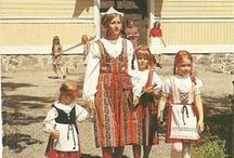 Finland / National costumes of Finland