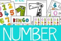 Numbers / by Lots of Love and Learning