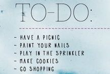 {list} / Bucket lists,challanges to do:)