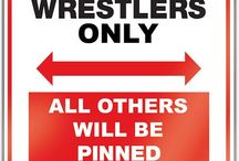 Wrestlers only / VIP wrestlers only!