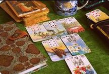 My cards / Lenormand and Tarot cards