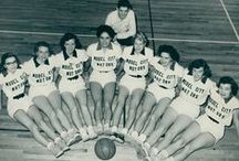Women's Basketball / Women's Basketball photos from the Sports and Recreation Photograph Collection, 1940s-1960s and undated